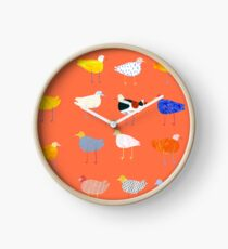 You Funky Bird Clock