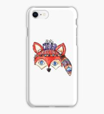 Stay Clever Little Fox  iPhone Case/Skin