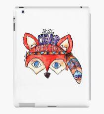 Stay Clever Little Fox  iPad Case/Skin