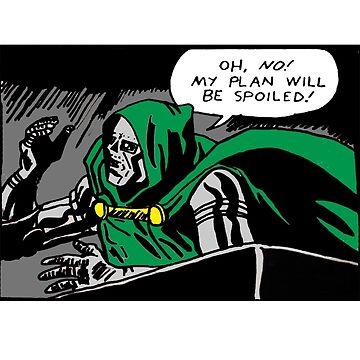 Doctor Doom by madvillainous