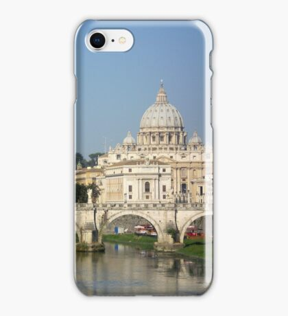 Sunday morning in Rome iPhone Case/Skin