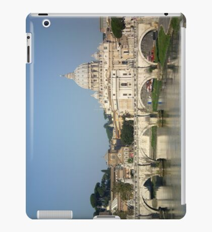 Sunday morning in Rome iPad Case/Skin