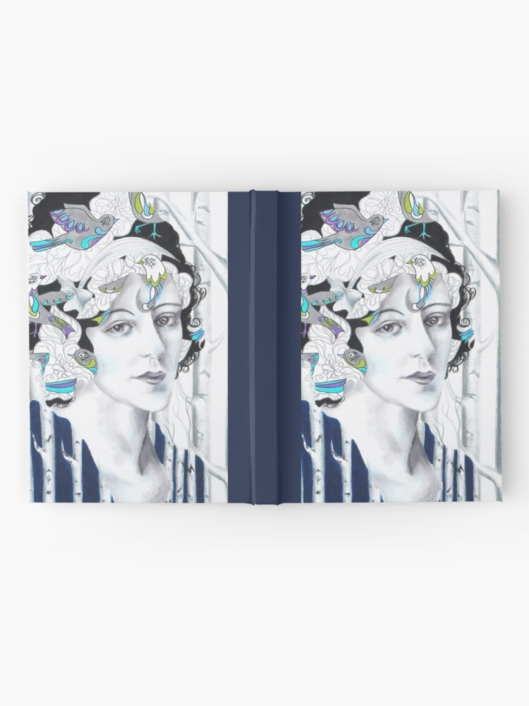 Alternate view of I'd Have Been Happier As A Bird Hardcover Journal