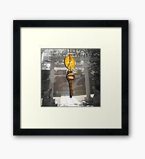 The Key to Peace Framed Print