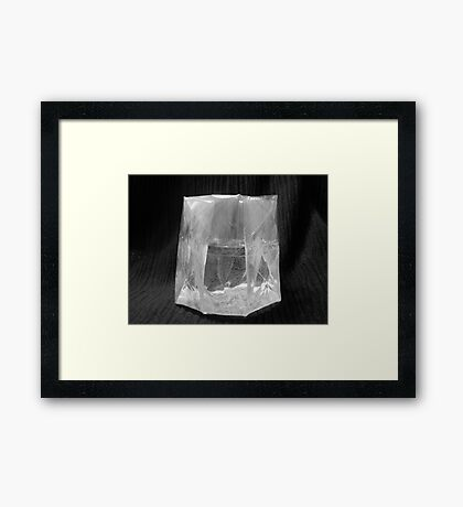 Folded Cup (My own design) Framed Print