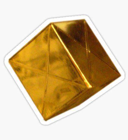 Floating Gold Sticker