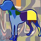 Colorful Doggy by storecee