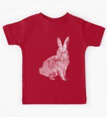 White Rabbit (Monochromatic Hue Series) Kids Tee