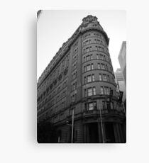 History in building  Canvas Print