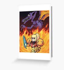 Chozo Warrior Greeting Card