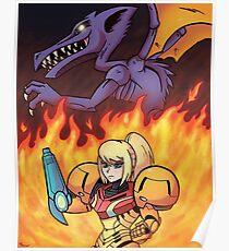 Chozo Warrior Poster