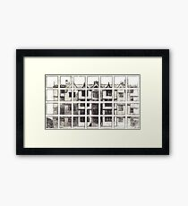 Fragmented Architecture Framed Print