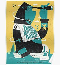 Dave Matthews Band, Tour 2016, Nikon At Jones Beach Theater, Wantago, NY Poster