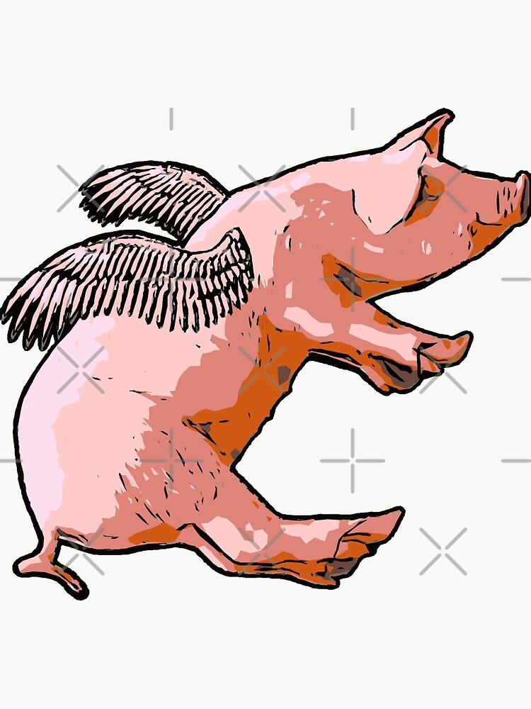 Flying Pig by rileyshack