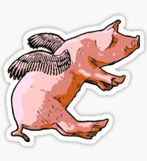Flying Pig Sticker