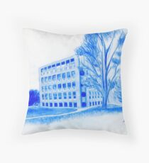 Exeter Library Throw Pillow