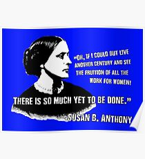 Revolutionary Women: Susan B. Anthony Poster