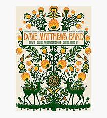 Dave Matthews Band, Tour 2016, SARATOGA PERFORMING ARTS CENTER SARATOGA SPRINGS NY Photographic Print