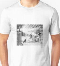 Nikola Tesla - Mad Science Unisex T-Shirt