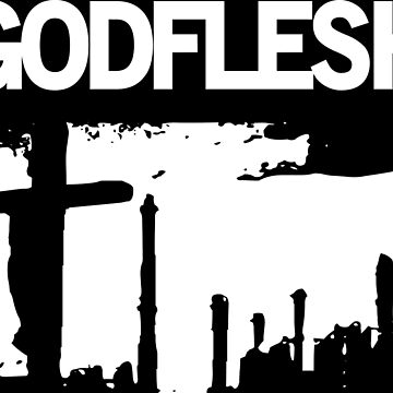 GODFLESH, camiseta, t-shirt, metal industrial by darkfolk