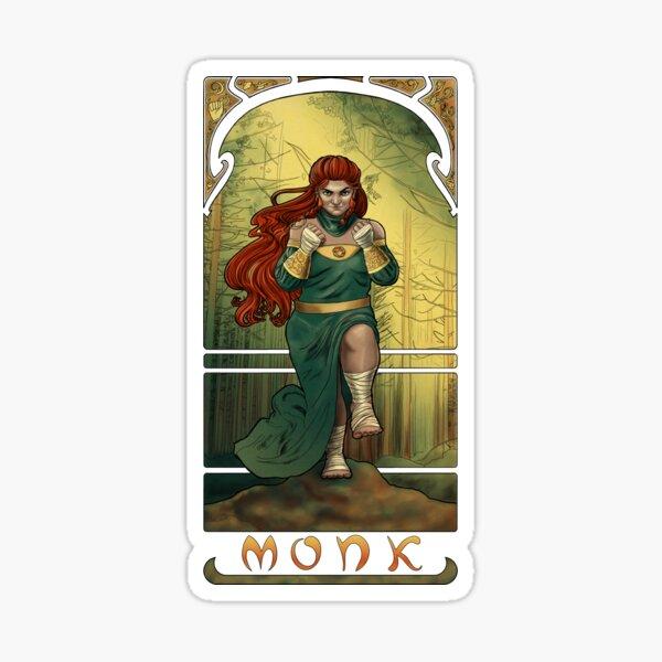 La Moine - The Monk Sticker