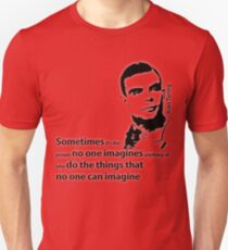 Turing  - Black and White Style T-Shirt