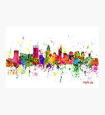 Perth Australia Skyline Photographic Print