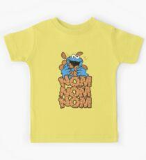 Cookie monster - Nom Nom Nom Kids Tee