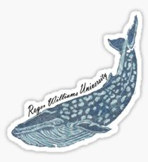 RWU Whale Sticker