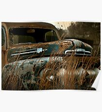 Abandoned 1952 Ford F-1 Pickup Poster