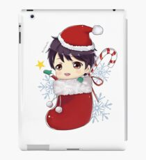 Yuri on ice fanart | Yuuri chibi Xmas Socks iPad Case/Skin