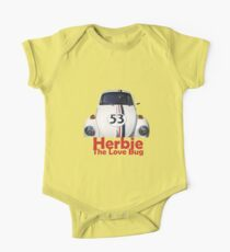 Herbie The Love Bug One Piece - Short Sleeve