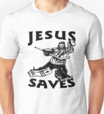 JESUS SAVES HOCKEY T-Shirt