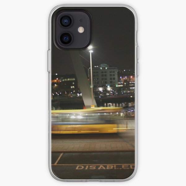 Quayside Bus Fly-by iPhone Soft Case