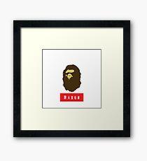 Supreme Bape - Hype Beast Framed Print