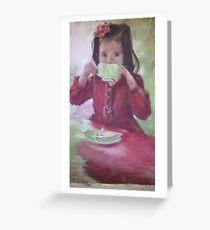 Grown up High Tea Greeting Card