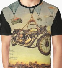Vintage Motorcycle Show Poster Graphic T-Shirt