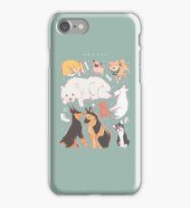 Dog Chart iPhone Case/Skin