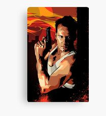 Die Hard 1 Canvas Print