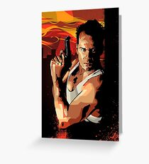 Die Hard 1 Greeting Card