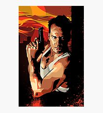 Die Hard 1 Photographic Print