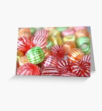 Sugar Candy Confectionary Greeting Card