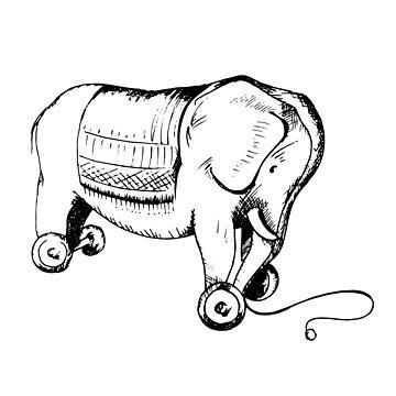 Baby Elephant by kacndw