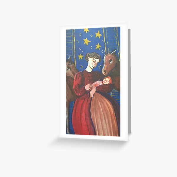Dolls' Nativity Greeting Card