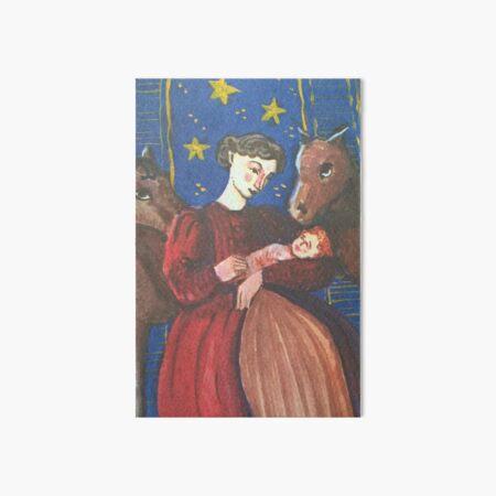 Dolls' Nativity Art Board Print
