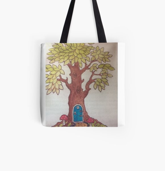 Fairy tree All Over Print Tote Bag