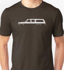 Truck Silhouette -  1973-1991, 8th Gen  Slim Fit T-Shirt