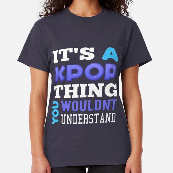 A KPOP THING - blue Classic T-Shirt