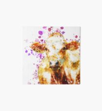 Watercolor Cow Design, Love Cows, Cow Art Art Board