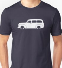 Lowered Classic SUV for Chevrolet Suburban 1947-1955, 4th Gen enthusiasts Unisex T-Shirt